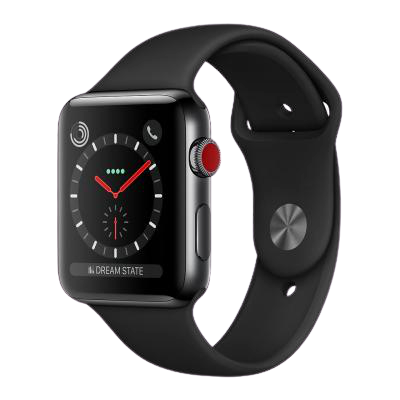 watch series 3 42mm stainless steel gps only